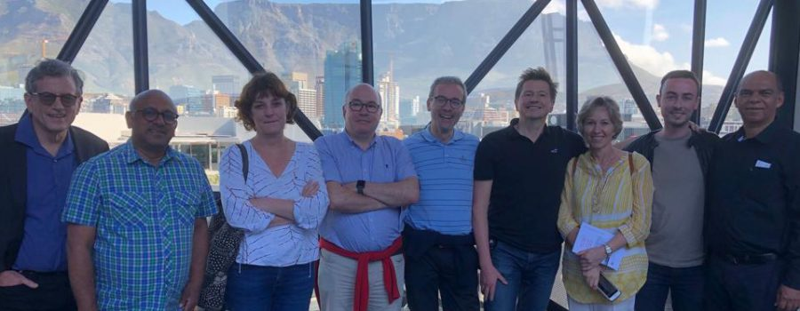 UWC/VUB academics and university leadership visiting the Zeitz MOCAA Museum in Cape Town. A strong partnership and joint PhD programme exists with the Centre of Humanities Research (CHR), the Faculty of Arts and the Western Cape CoLab at UWC.